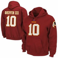 Robert Griffin III Washington Redskins Eligible Receiver Hoodie - Burgundy 1845a19c8