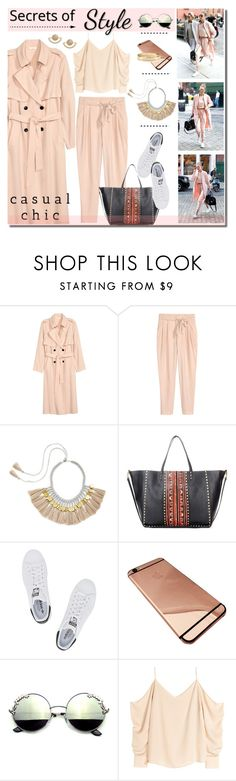 """""""Gigi Hadid goes pink"""" by anne-irene ❤ liked on Polyvore featuring Valentino, adidas Originals and T+C by Theodora & Callum"""