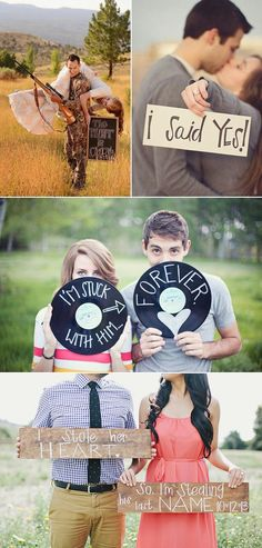 She Said Yes | Have Some Fun Engagement Photo Ideas | Super Cute Engagement Announcement Photo Ideas