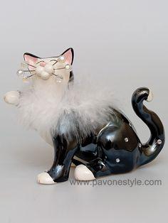 """Кошки и собачки. CMS - 31/23 Фигурка """"Кошка Ча-Ча"""" - Цена: 3 450 руб."""