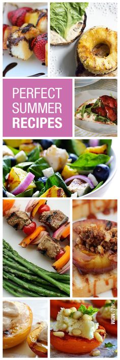 Impress your guests with these perfect summer recipes!