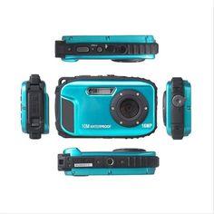 High quality HD Waterproof Camera Digital 16MP 2.7' Photo Camera 8x Zoom Instax Camara De Fotos Anti-shake Video Camcorder 1080P