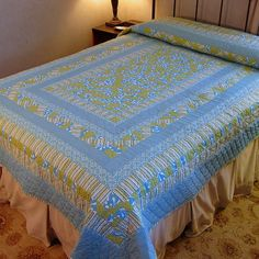 Summer at the Beach Quilt queen sized by 183NorthWorkshop on Etsy, $365.00