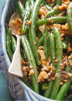 Green Beans With Walnuts And Balsamic  (1) From: Healthy Seasonal Recipes, please visit