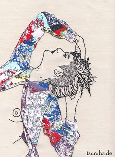 If you want textile art inspiration or contemporary embroidery ideas, Mr X Stitch is the site for you. Our columnists share their love of needlework and there are hundreds of posts to get you itching for some stitching! Freehand Machine Embroidery, Hand Embroidery Designs, Embroidery Art, Cross Stitch Embroidery, Sculpture Textile, Art Textile, Textile Artists, Contemporary Embroidery, Thread Painting
