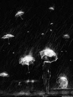 piovono ombrelli...