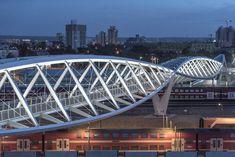 Gallery of The High-Tech Park Bridge / Bar Orian Architects - 7