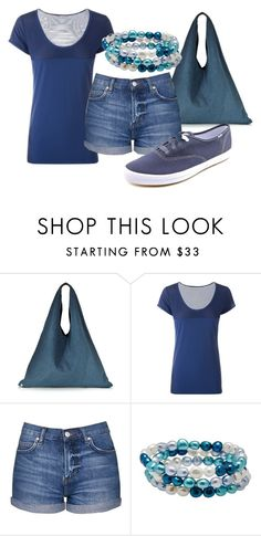 """""""Color of the Day 5/14: Indigo"""" by abbyandelle on Polyvore featuring MM6 Maison Margiela, Lorna Jane, Topshop, Honora, Keds, coloroftheday, AbbyAndElle and upstairsfashion"""