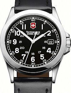 NEW MENS INFANTRY VICTORINOX SWISS ARMY BLACK WATCH 24653 IGN   Citizen Watches For You And Her