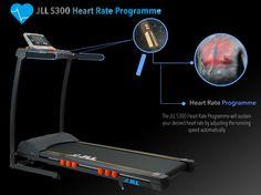JLL Fitness Ltd S300 Domestic Treadmill Home Treadmill, Treadmills, Fitness, Race Tracks, Treadmill
