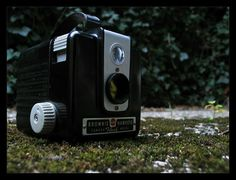 Meine Kodak Brownie Hawkeye Camera Flash Model - BJ 1950 - 6x6 Rollfilm Kamera - Toycam - Boxkamera - Analog Photography