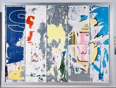 Decollage (1989) by Raymond Hains