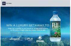 Fiji Water Contest:  Win Trip to Fiji (ONT)