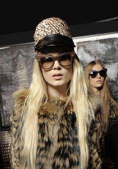 #RobertoCavalli Eyewear 'Wild Diva' from the FW 2013 fashion show. #sunglasses #fashion #style #trend