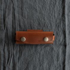 Pouch for Opinel pocket knife no. 6/7/8, side-mount from Odgers and McClelland Exchange Stores