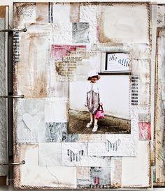 Collage in my Art Journal by Stephanie Schutze / Scrapmanufaktur