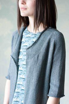 Ravelry: Brise Cardigan pattern by Hannah Fettig