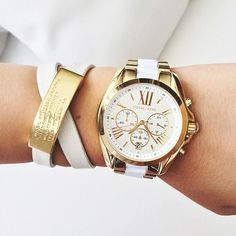 Image via We Heart It https://weheartit.com/entry/138742910 #classy #Dream #girl #gold #golden #inspiration #jewelry #love #lovely #luxury #marcjacobs #MichaelKors #watch #white #highclass #armcandy