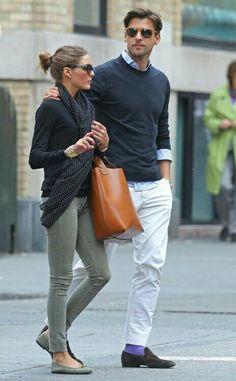 Olivia Palermo. Me gusta la bolsa.