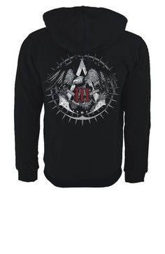 Assassin's Creed III Official Team Hoodie Black Edition