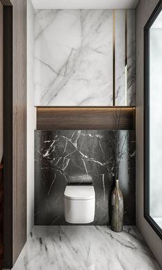 Washroom Design, Toilet Design, Bathroom Interior Design, Next Bathroom, Small Bathroom, Contemporary Bathroom Designs, Bathroom Toilets, Villa Design, Dream Bathrooms