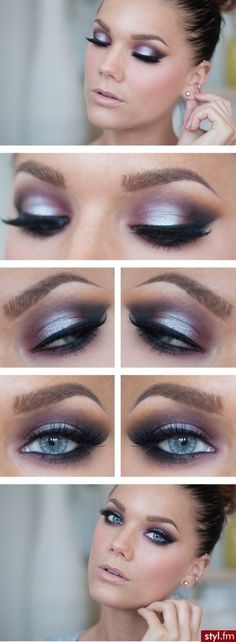 When it comes to eye make-up you need to think and then apply because eyes talk louder than words. The type of make-up that you apply on your eyes can talk loud about the type of person you really are. Love Makeup, Makeup Tips, Makeup Looks, Makeup Ideas, Makeup Tutorials, Gorgeous Makeup, Makeup Set, Hd Makeup, Unique Makeup