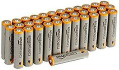 Pack of 36 AAA alkaline batteries Premium long lasting power Perfect for emergency supplies, toys, remote controls, or anything that takes AAA batteries 5 year shelf life.Ships in Certified Frustration-Free Packaging Not rechargeable