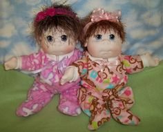 Soft Cloth Baby Doll Soft Sculpture Doll  MADE TO by puppythreads, $35.00
