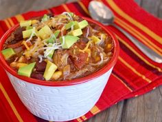 This pulled pork chili recipe is a true comfort food meal that the whole family will love.