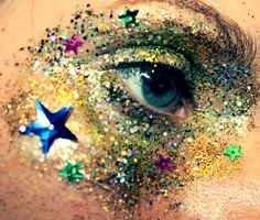Glitter!! #makeup