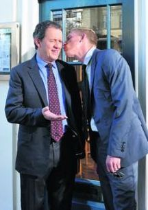 between takes kevin whately laurence fox producer chris burt
