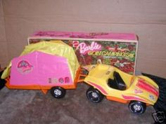 1973 Barbie Goin' Camping Set #8669