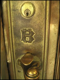 """All the original hardware on the Healey is stamped with the """"HB"""" (""""Healey Building"""") motif."""