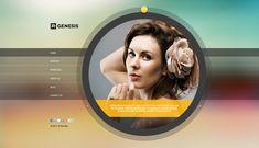 R.Gen - Circle Creative PSD Template - ThemeForest
