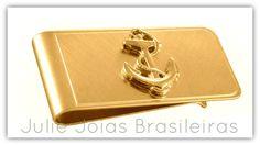 Money clip em ouro 750/18k (750/18k gold money clip)