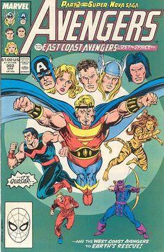 Avengers # 302 by John Buscema & Tom Palmer