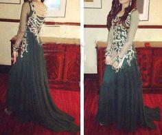 pretty indo/western dress