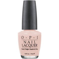 O.P.I Coney Island Cotton Candy Nail Lacquer 15ml found on Polyvore