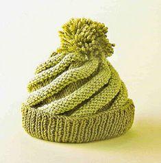 iKnitts: Patterns / Cappelli & Berretti / Cappelli caramelle calce