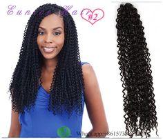 Free ship freetress crochet braid #2,#33 crochet braid curly hair bulk braiding freetress synthetic hair,crochet hair water wave