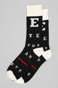Eye For An Eye Sock - Urban Outfitters