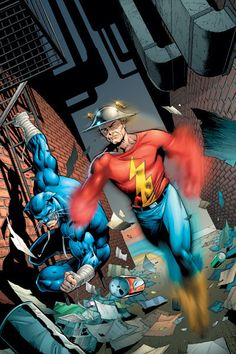 """The people out there on the streets-the people who really mater- they look up to teams like the Titans and the League. But the Titans and the League…They look up to us."" -Jay Garrick"
