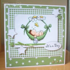 Beth's Little Card Blog: Penny Black Saturday #170!