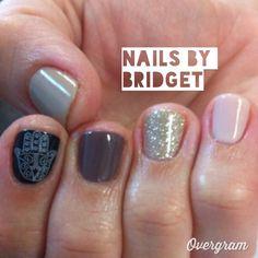 More Hamsa nails simple nails