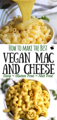 The Ultimate Vegan Mac and Cheese! The Ultimate Vegan Mac and Cheese! Fitness gesunde Ernährung und Selbstliebe laufvernarrt Fitness-Food Recipes (gesund vegan) […] lunch mac and cheese Vegan Dinner Recipes, Vegetarian Recipes, Healthy Recipes, Vegan Recipes For Kids, Vegetarian Cooking, Dairy Free Mac And Cheese, Easy Vegan Mac And Cheese Recipe, Fromage Vegan, Vegan Side Dishes