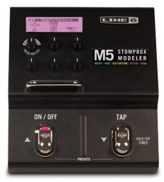 Line 6 M5 StompBox Modeler by Line 6. $129.99. Save 54%!