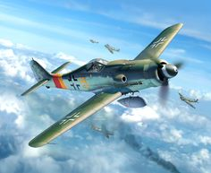 Focke Wulf Fw 190D-9 by Egbert Friedl