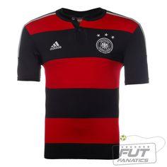 34a29ed532 Camisa Adidas Alemanha Away 2014 - Fut Fanatics - Compre Camisas de Futebol  Originais Dos Melhores Times do Brasil e Europa - Futfanatics