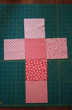 How to sew soft baby blocks.  No pattern, just tutorial.