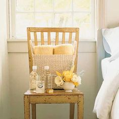 Martha Stewart's welcome kits for guests